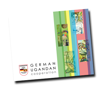 cover of German-Ugandan cooperation brochure